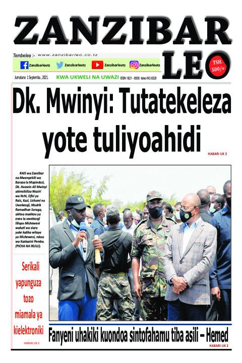 Dk. Mwinyi: Tutatekeleza yote tuliyoahidi | ZANZIBAR LEO