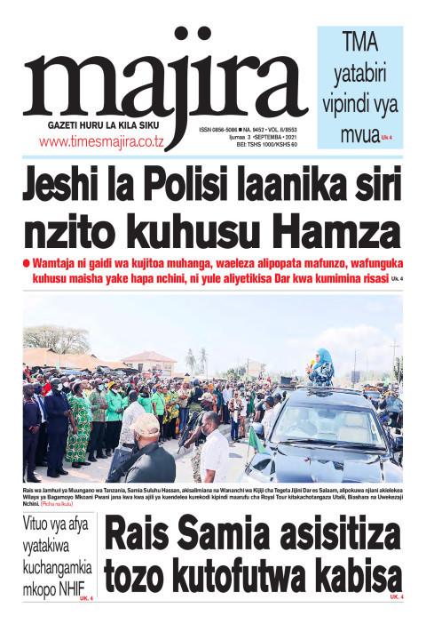 Jeshi la Polisi laanika siri nzito kuhusu Hamza | MAJIRA