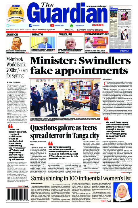 Minister: Swindlers fake appointments | The Guardian