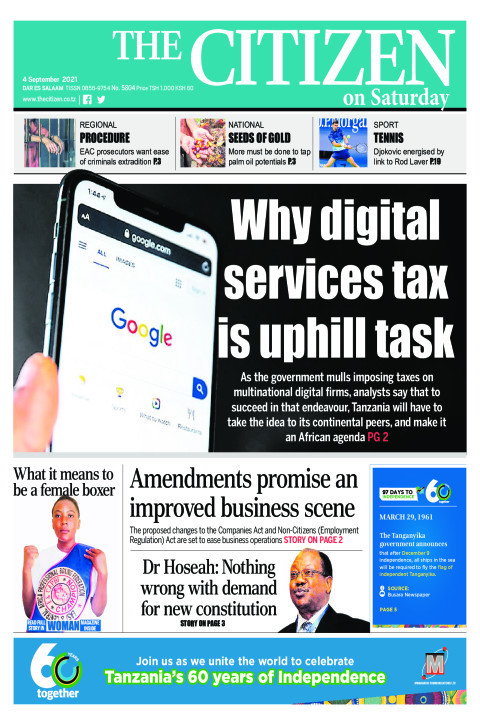 WHY DIGITAL SERVICES TAX IS UNPHIL TASK  | The Citizen