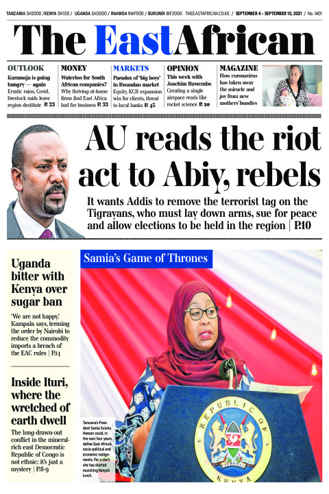 AU READS THE RIOT ACT TO ABIY,REBELS  | The East African