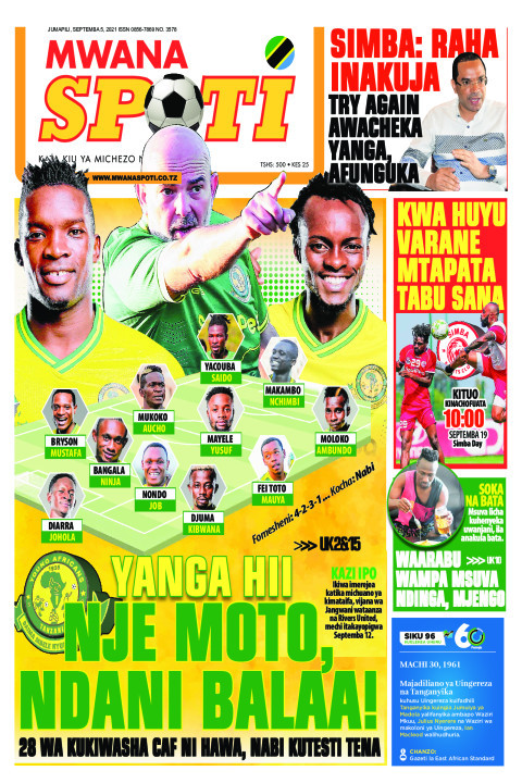 YANGA HII NJE MOTO,NDANI BALAA!!  | Mwanaspoti