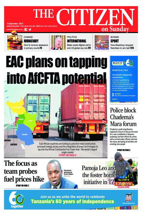 EAC PLANS ON TAPPING INTO AfCFTA POTENTIAL  | The Citizen
