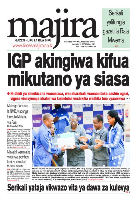 IGP akingiwa kifua mikutano ya siasa | MAJIRA