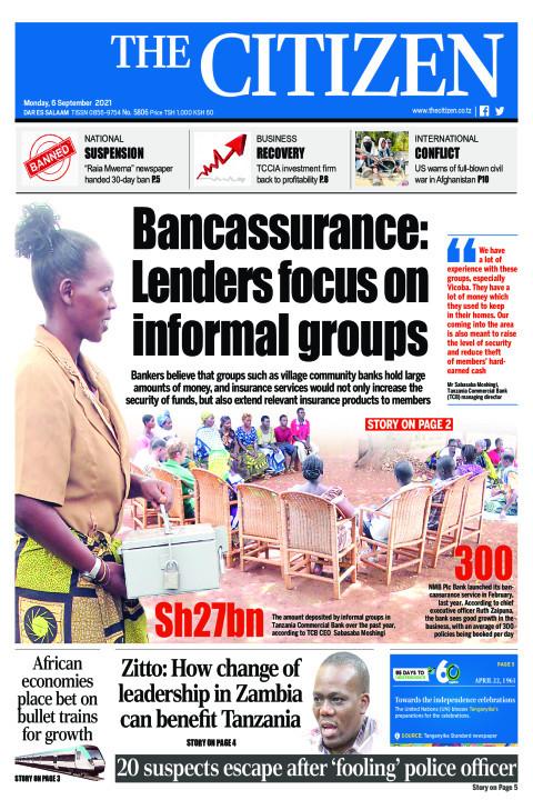 BANCAASSURANCE: LENDERS FOCUS ON INFORMAL GROUPS  | The Citizen