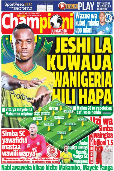 JESHI LA KUWAUA WANIGERIA HILI HAPA | Champion Jumatatu