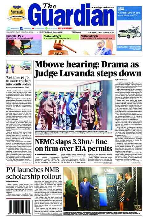 Mbowe hearing: Drama as Judge Luvanda steps down | The Guardian