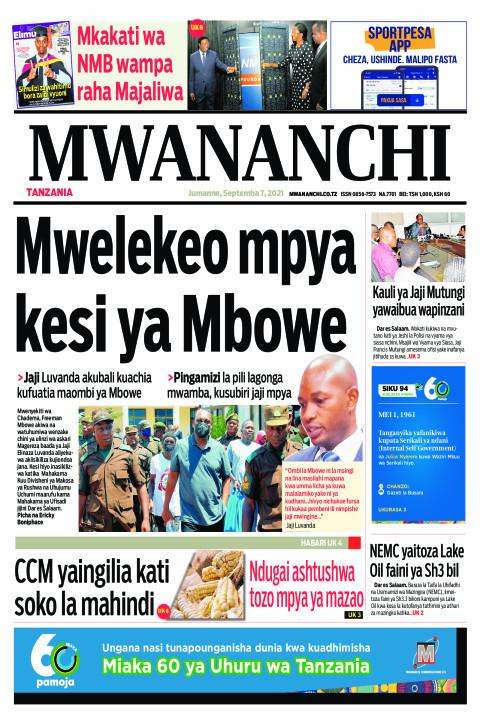 MWELEKEO MPYA KESI YA MBOWE  | Mwananchi