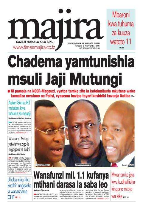 CHADEMA wamtunishia msuli Jaji Mutungi | MAJIRA