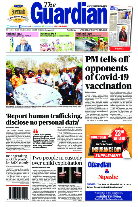 PM tells off opponents of Covid-19 vaccination | The Guardian