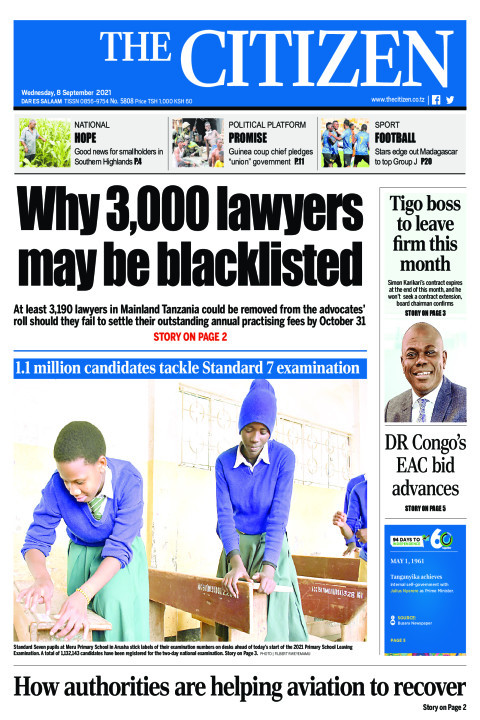 WHY 3,000 LAWYERS MAY BE BLACKLISTED  | The Citizen