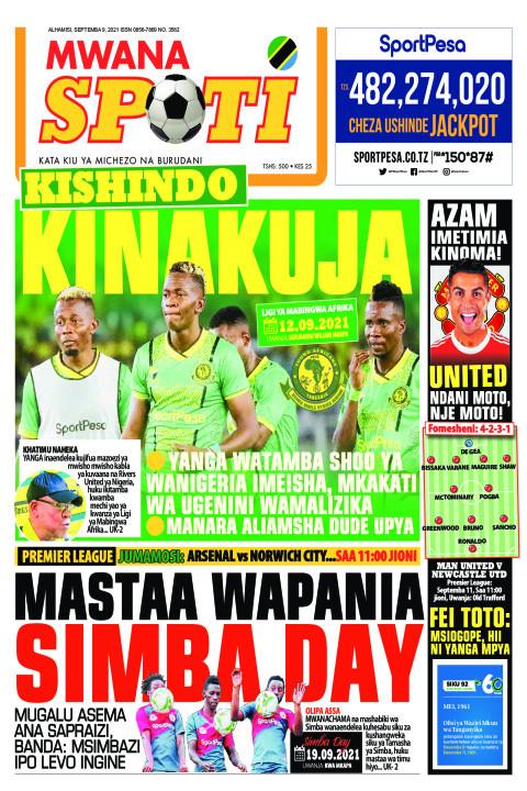 KISHINDO KINAKUJA,MASTAA WAPANIA SIMBA DAY  | Mwanaspoti