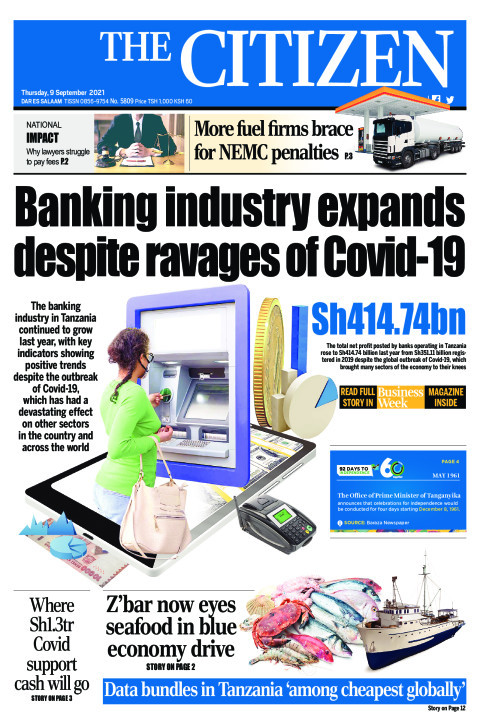 BANKING INDUSTRY EXPANDS DESPITE RAVAGES OF COVID-19  | The Citizen