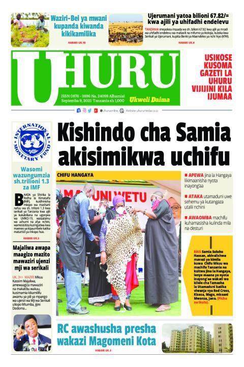 Kishindo cha Samia akisimikwa Uchifu | Uhuru