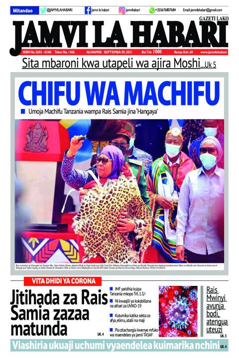 CHIFU WA MACHIFU    Jamvi La Habari