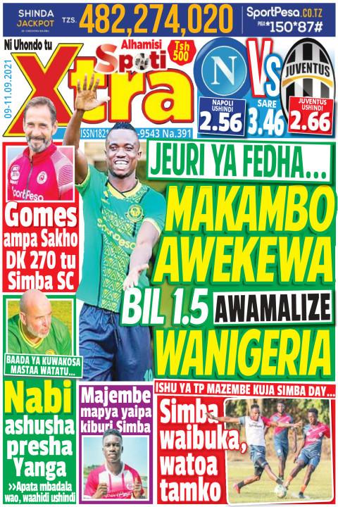 MAKAMBO AWEKEWA BIL 1.5 AWAMALIZE WANIGERIA  | SpotiXtra Alhamis