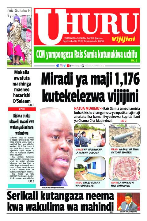 Miradi ya maji 1,176 kutekekezwa vijijini | Uhuru