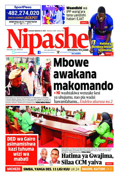 Mbowe awakana makomando | Nipashe