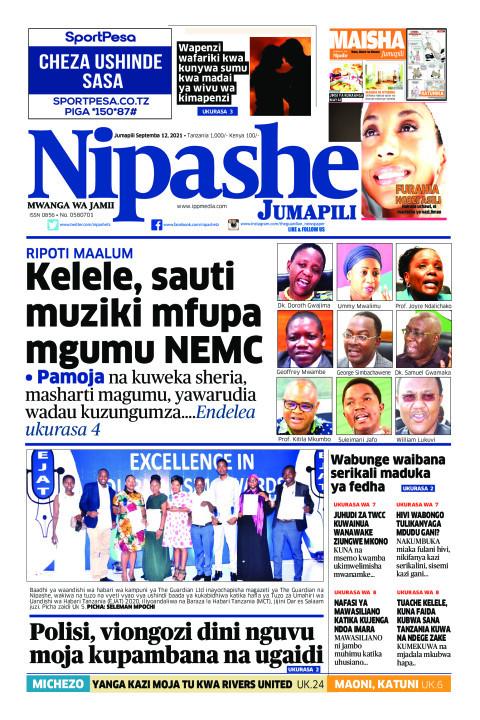 Kelele, sauti muziki mfupa mgumu NEMC | Nipashe