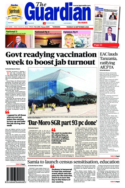 Govt readying vaccination week to boost jab turnout  | The Guardian