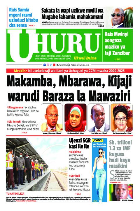 Makamba, Mbarawa Kijaji warudi baraza la Mawaziri | Uhuru