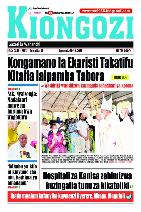Kongamano la Ekaristi Takatifu Kitaifa laipamba Tabora | Kiongozi