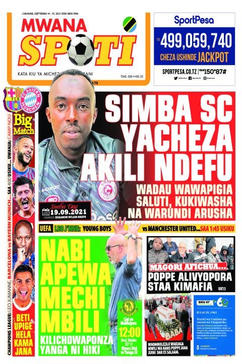 SIMBA SC YACHEZA AKILI NDEFU,NABI APEWA MECHI MBILI  | Mwanaspoti