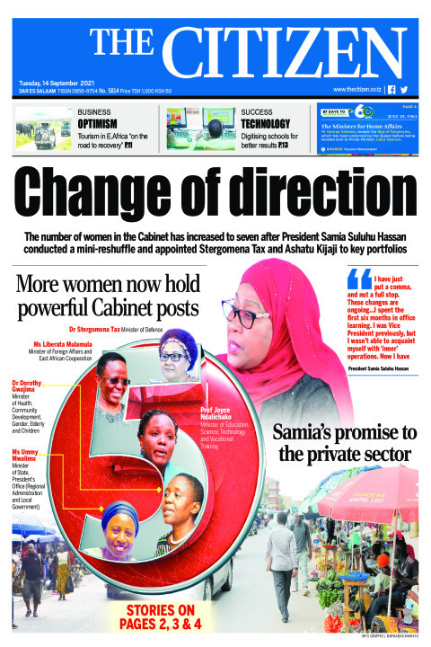 CHANGE OF DIRECTION  | The Citizen