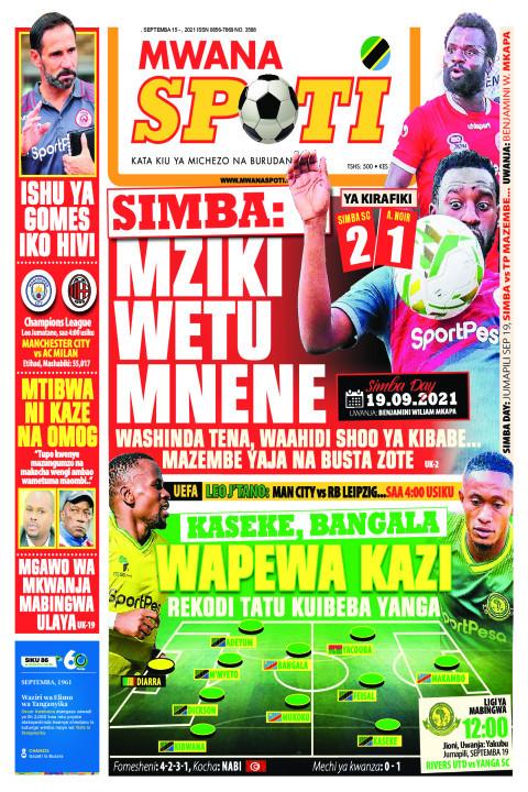 SIMBA: MZIKI WETU MNENE,KASEKE,BANGALA WAPEWA KAZI  | Mwanaspoti