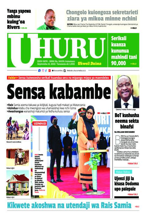 Sensa kabambe | Uhuru