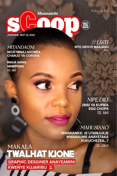 MAKALA: Twalhat Kione Graphic Designer Anayeamini Kwenye Ku | Mwananchi Scoop