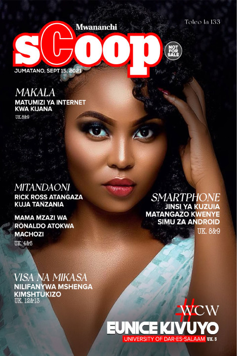 MAKALA: #WCW Eunice Kivuyo University Of Dar  Es Salaam  | Mwananchi Scoop