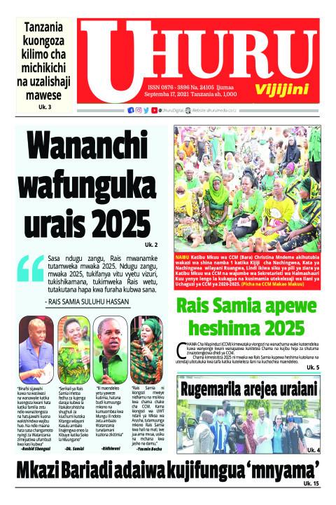 Wananchi wafunguka urais 2025 | Uhuru