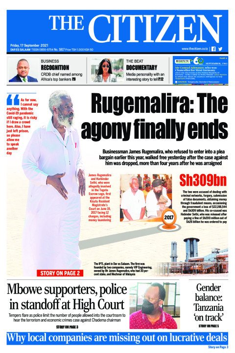 RUGEMALIRA:THE AGONY FINALLY ENDS  | The Citizen