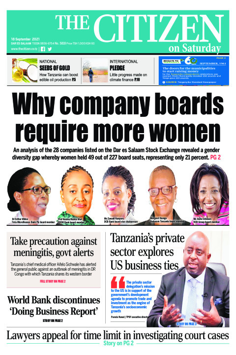 WHY COMPANY BOARDS REQUIERE MORE WOMEN    The Citizen