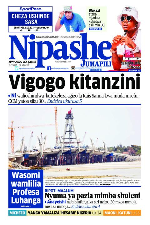 Vigogo kitanzini | Nipashe