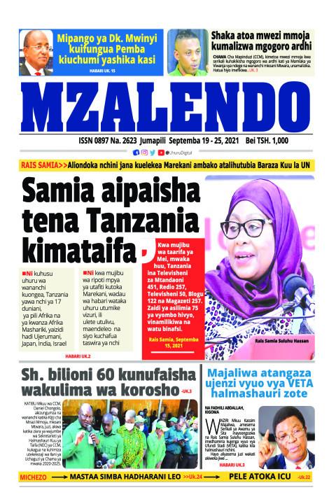 Samia aipaisha tena Tanzania kimataifa | Mzalendo
