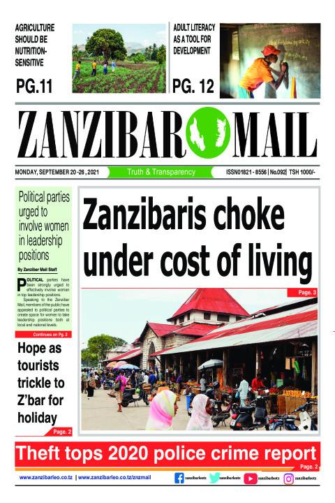 Zanzibaris choke under cost of living | ZANZIBAR MAIL