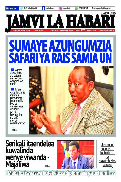 Sumaye azungumzia safari ya Rais Samia UN | Jamvi La Habari