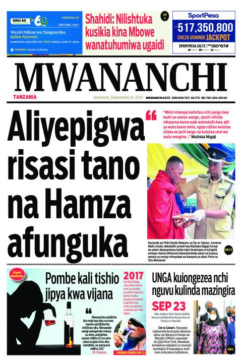 ALIYEPIGWA RISASI TANO NA HAMZA AFUNGUKA  | Mwananchi