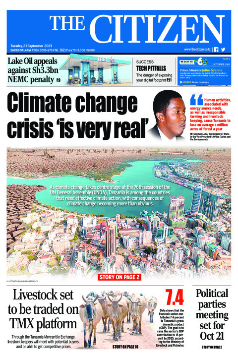 CLIMATE CHANGE CRISIS 'IS VERY REAL'    The Citizen