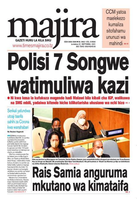 Polisi 7 Songwe watimuliwa kazi | MAJIRA