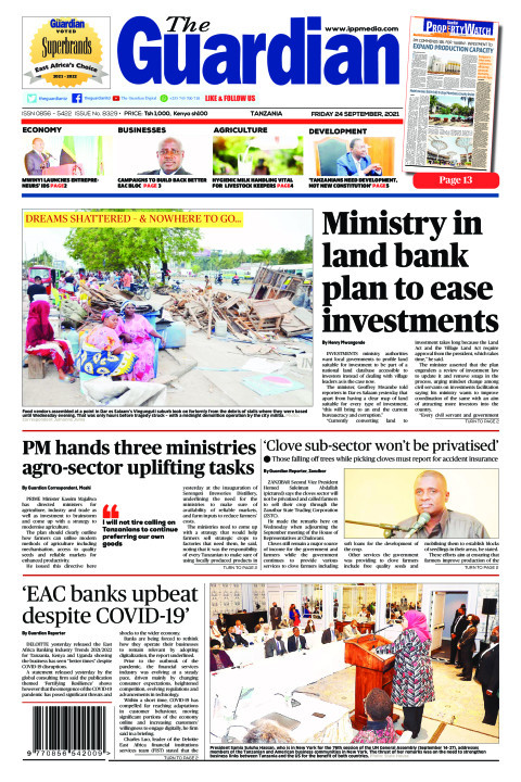Ministry in land bank plan to ease investments | The Guardian