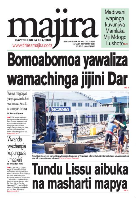 Bomoabomoa yawaliza wamachinga jijini Dar | MAJIRA
