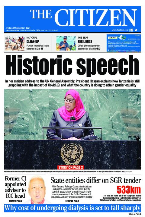 HISTORIC SPEECH    The Citizen