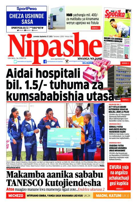 Aidai hospitali  bil. 1.5/- tuhuma za kumsababishia utasa | Nipashe