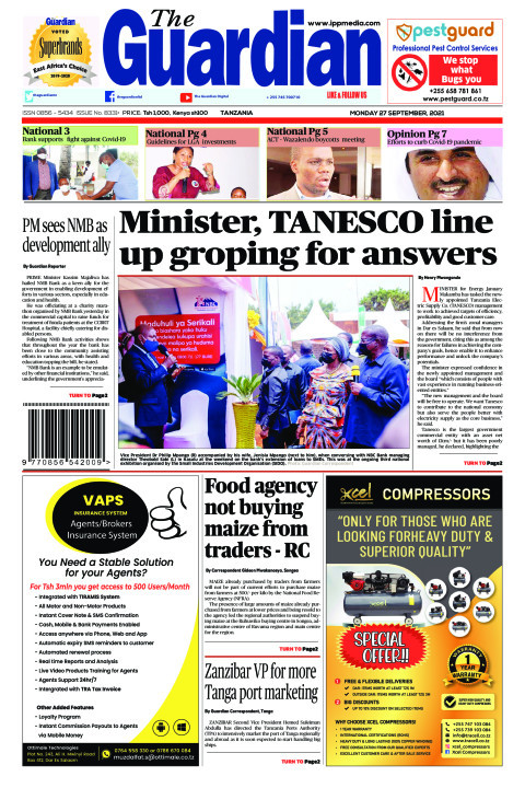 Minister, TANESCO line up groping for answers | The Guardian
