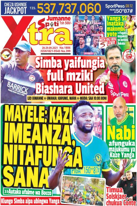 MAYELE: KAZI  IMEANZA , NITAFUNGA SANA | SpotiXtra Jumanne