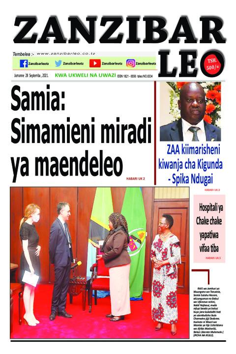 Samia: Simamieni miradi ya maendeleo | ZANZIBAR LEO