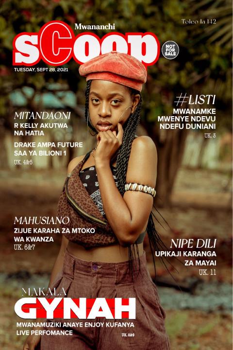 MAKALA: Gyna Mwanamuziki Anaye Enjoy Kufanya Live Perfomanc | Mwananchi Scoop